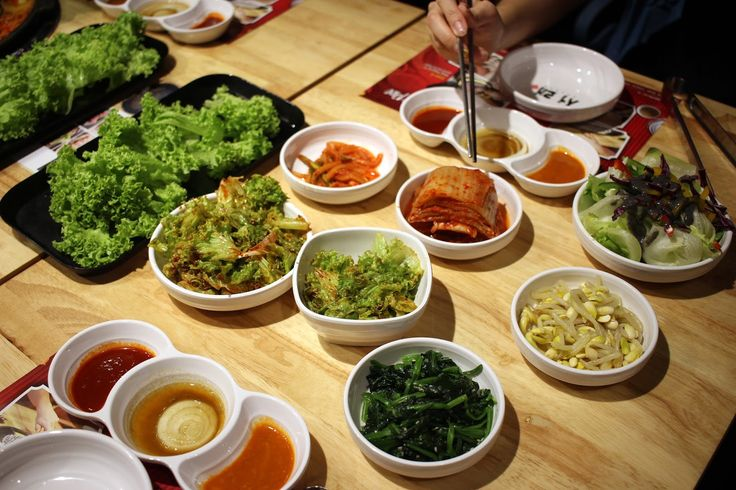 The best thing thing about Korean BBQ? The side dishes!