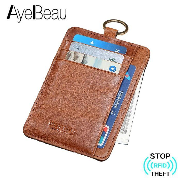 mens credit card holder rfid