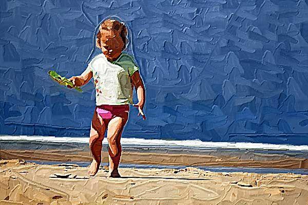 Impasto   Photo to Impasto Painting - Portrait and Landscape Impasto Paintings