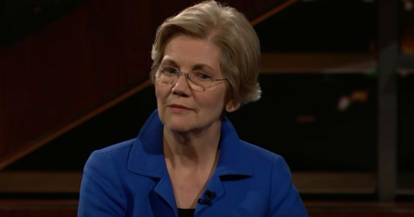 HAHAHA! This is Elizabeth Warren's face after Bill Maher called her 'Pocahontas'