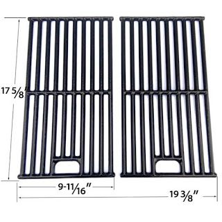 Grillpartszone- Grill Parts Store Canada - Get BBQ Parts, Grill Parts Canada: Dyna Glo Cooking Grates   Replacement 2 Pack Porce...