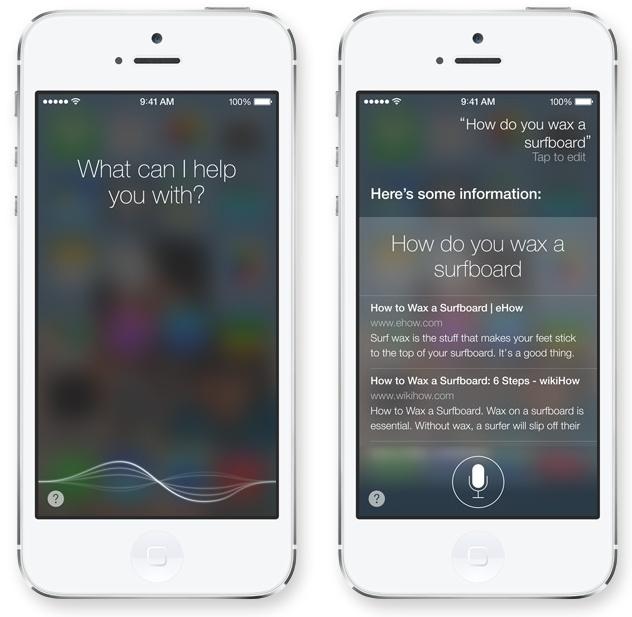 iOS 7 - Siri