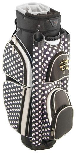 Hunter Golf Eclipse Black Polka Dot Ladies Golf Bag
