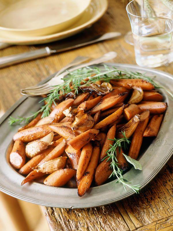 #Zanahorias asadas con #romero #recetas #aromáticas
