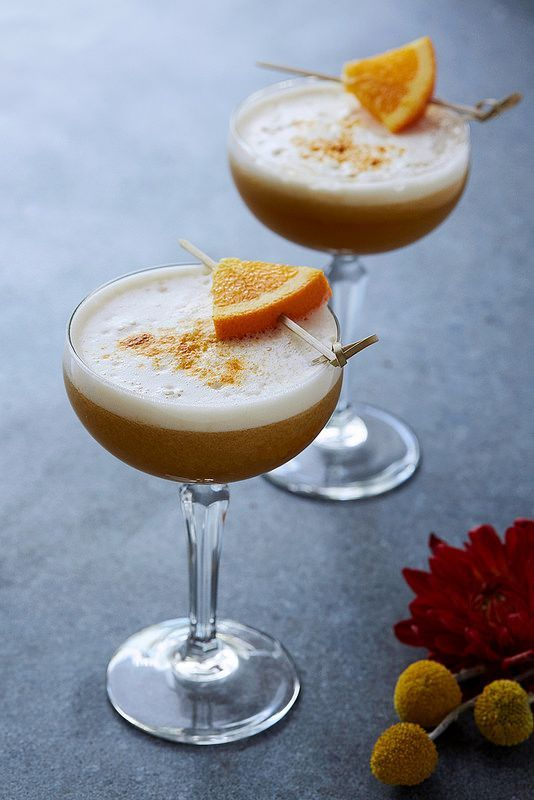 Maple Bourbon Sour | Tasty Yummies