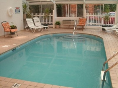 Gatlinburg Tower Condos 4th floor 4 blocks to the parkway Shared indoor heated swimming pool