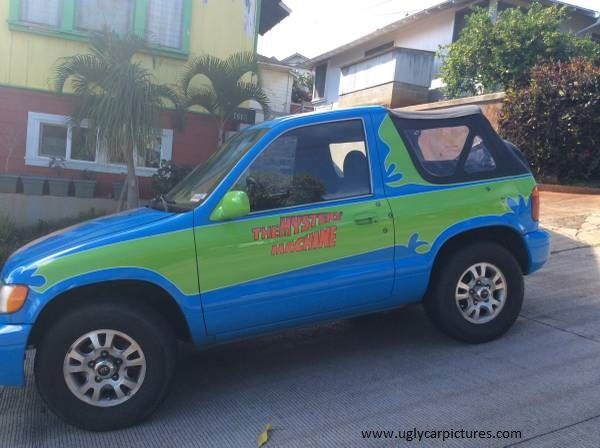 scooby doo car looking for ugly cars we have the largest collection of ugly