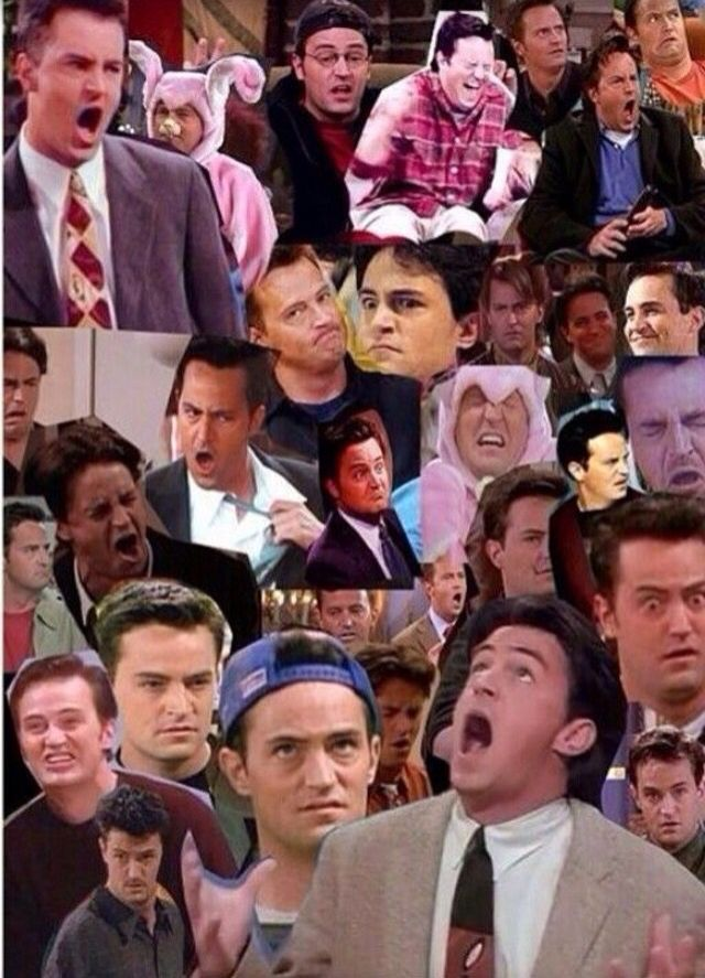 My favorite. Chandler Bing.