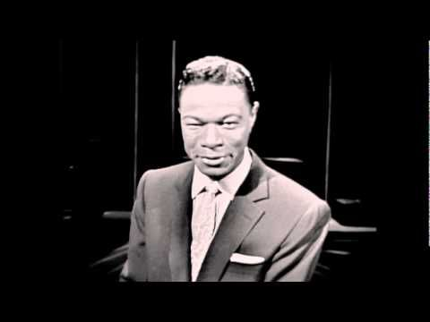 Nat King Cole- When I Fall In Love. I don't believe that love can last forever but when he sings like this... I have hope.