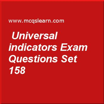 Pinterestteki 25den fazla en iyi table quiz questions fikri practice test on universal indicators o level cambridge chemistry quiz 158 online practice chemistry exams questions and answers to learn universal urtaz Image collections