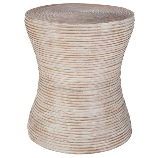 You're going to love our Lucia White Washe....  Great style, great design. Take a peek: http://skyiris.com/products/lucia-white-washed-rattan-stool?utm_campaign=social_autopilot&utm_source=pin&utm_medium=pin