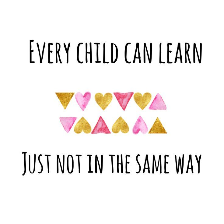 Every child can learn, just not in the same way … Teaching quotes, educational, … # Equal # Anything # Teaching # Learning #not