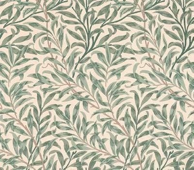 Willow Boughs, a feature wallpaper from Morris & Co, featured in the Morris & Co William Morris collection.