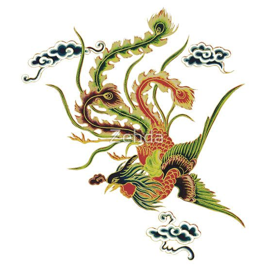 Japanese Art Phoenix | fc,550x550,white.jpg