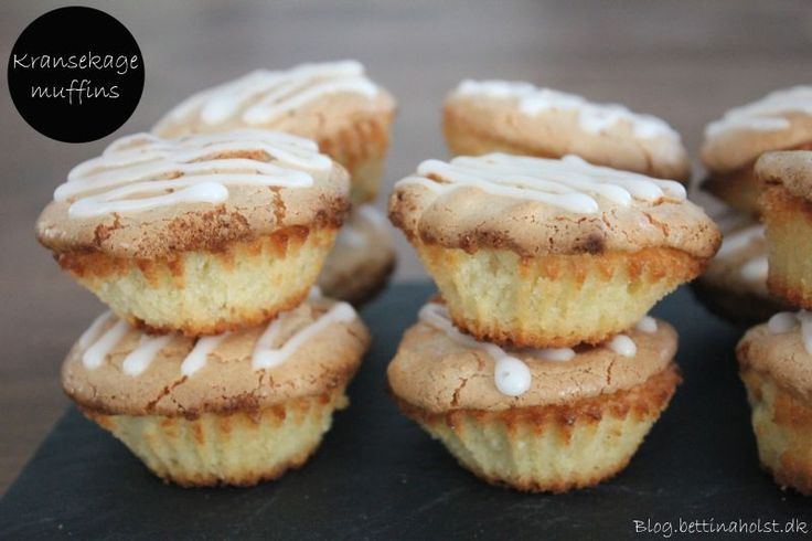 Nemme kransekage muffins