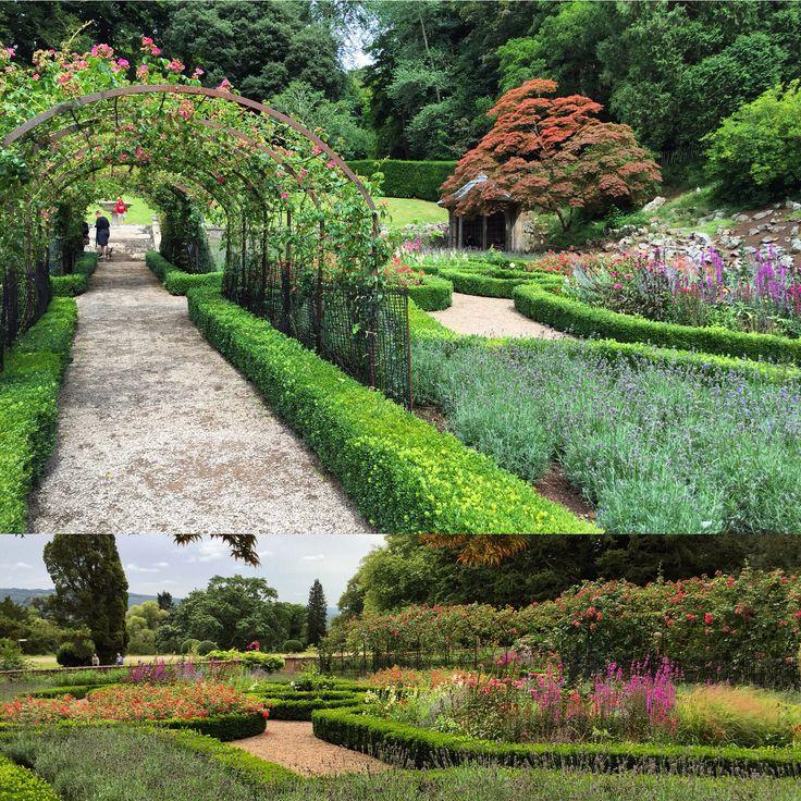 Lovely fragrances from Rose garden #Tyntesfield #fermataUK #travel #Bristol #presstrip @nationaltrust