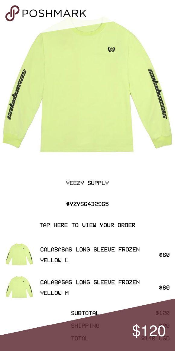 b39bb98c36a89 Calabasas yeezy Frozen yellow