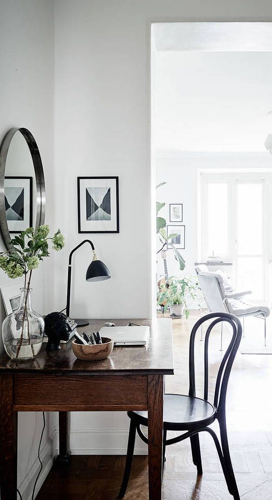 cozy home with a vintage touch via coco lapine design. beautiful ideas. Home Design Ideas
