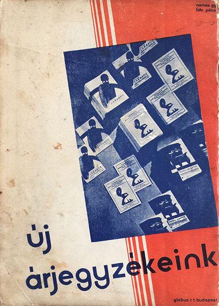 A kerék - Cordatic revü (Wheel - Cordatic Revue), magazine, Aug. 1930, Budapest. Back cover design by Gyorgy Nemes and Jozsef Pecsi (photo). Kerék (Wheel) was a Hungarian magazine for car enthusiasts.