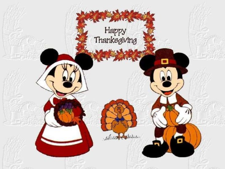 Best Mickey Mouse Thanksgiving Clipart #22524   Disney ...