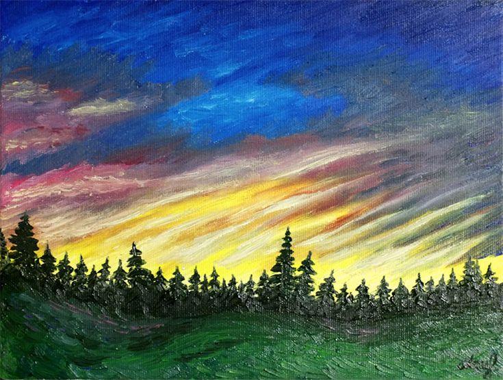 Lectia 06 – Cum pictam un peisaj impresionist in culori de ulei