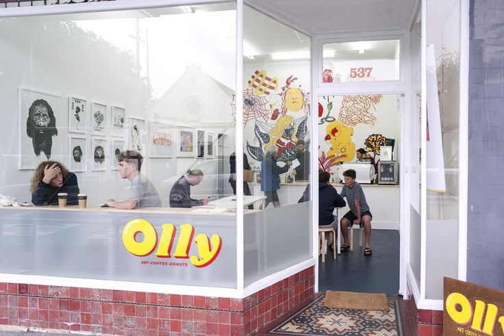 The original idea for Olly, a part-time café, part-time art gallery in Auckland's Mount Eden, came forth from founders Bryan Anderson, Chlöe Swarbrick and Alex Bartley Catt in early 2016 ...