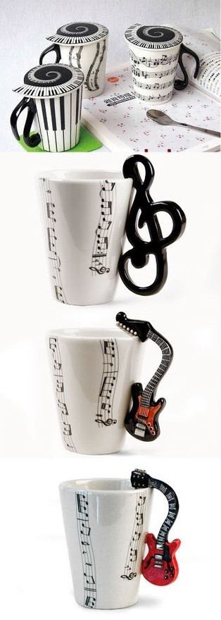 mugs for musicians and the people who love them