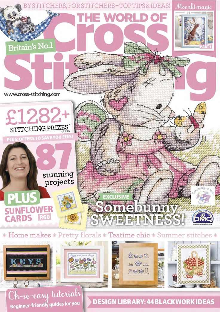 The World of Cross Stitching Issue 232 patterns pinned