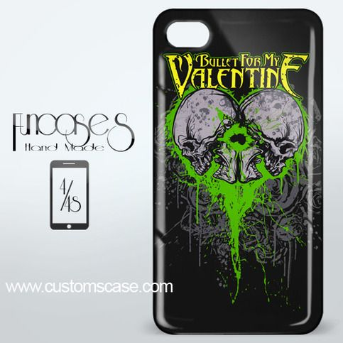 Bullet For My Malentine iPhone 4 or 4S Case Cover from Funcases