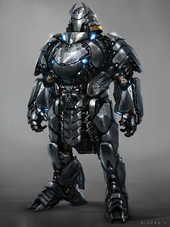 Silver Samurai - The Wolverine Concept Art