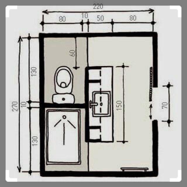 interesting bathroom layout!!