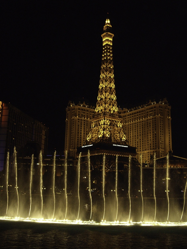Las Vegas- been there! Paris was beautiful. (visited in 2011)