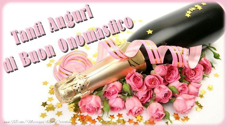 Cartoline di onomastico - Tanti Auguri di Buon Onomastico - messaggiauguricartoline.com