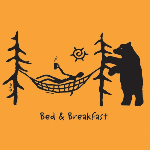 Canadian T-Shirt (Adult) - Bed & Breakfast - $19.95