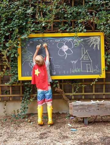 Top 25 best Outdoor chalkboard ideas on Pinterest Kids backyard