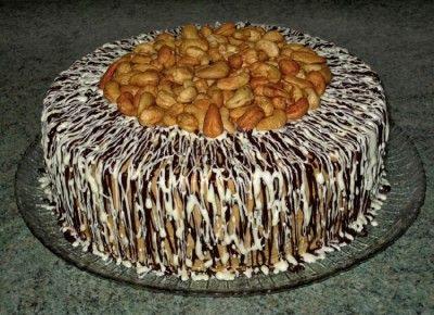 Вишня на снегу торт фото 3