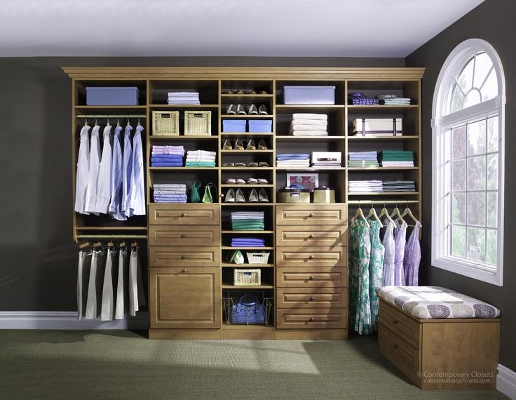Closets   Contemporary   Closet     By EasyClosets