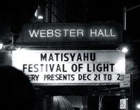 Matisyahu - Festival of Light Tour by Yossi Belkin, via Behance