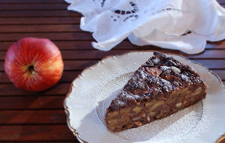 Torta paesana light di mele