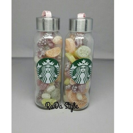 Candy Glass Bottle