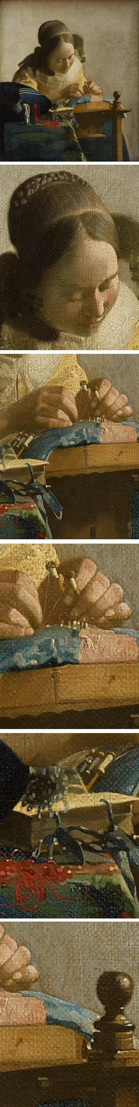 Vermeer's The Lacemaker Beautiful Art
