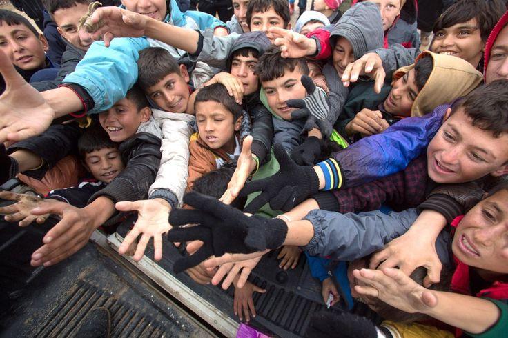 DUHOK, IRAK. W tym czasie Polacy nie zapomnieli również o najbardziej potrzebujących. Pomoc humanitarna z Polski dotarła do irakijskich dzieci, które zostały zmuszone do opuszczenia swoich domów przez Państwo Islamskie. Oby chociaż na chwilę uśmiech zagościł na ich twarzy!