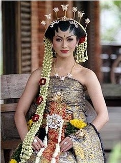 The bride (Central Java)