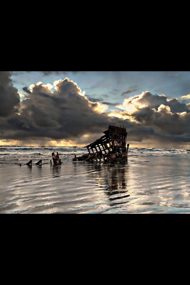 Iredale wreck Oregon Coast 161 best Travel