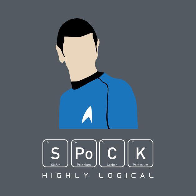 Awesome 'Highly+Logical+Spock' design on TeePublic!