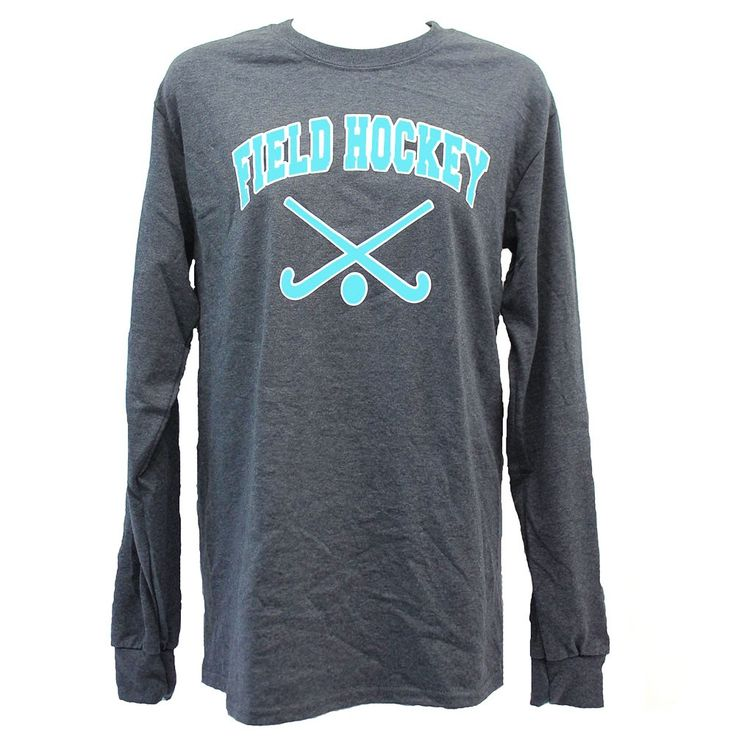 Long Sleeve Heathered Field Hockey T-Shirt - Apparel - Field Hockey - Sports