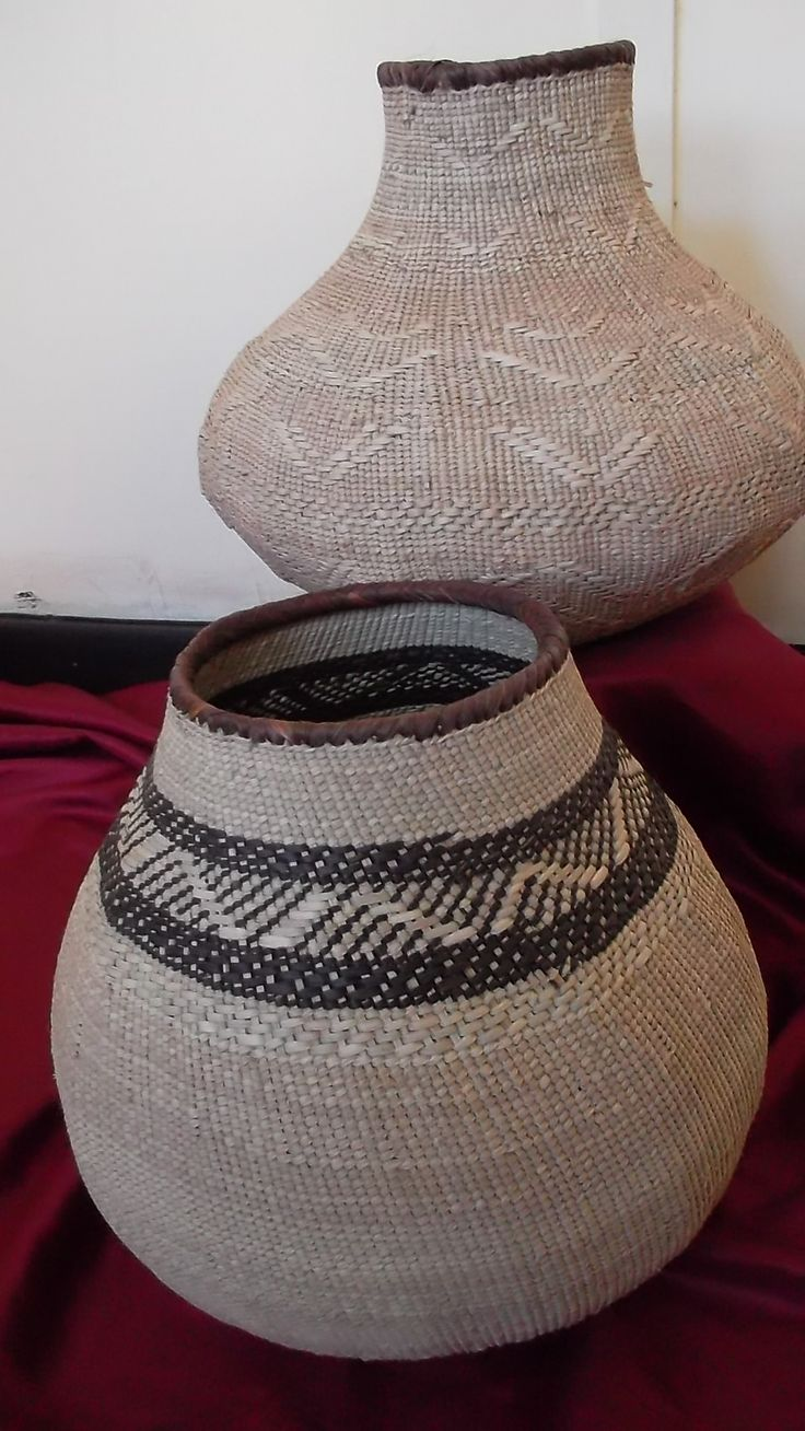 Clabash from Tonga handwoven from Ilala Tree