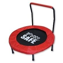 """36"""" Folding BounceSafe™ Trampoline with Handle from Toys """"R"""" Us Canada $44.97 (36% Off) -"""
