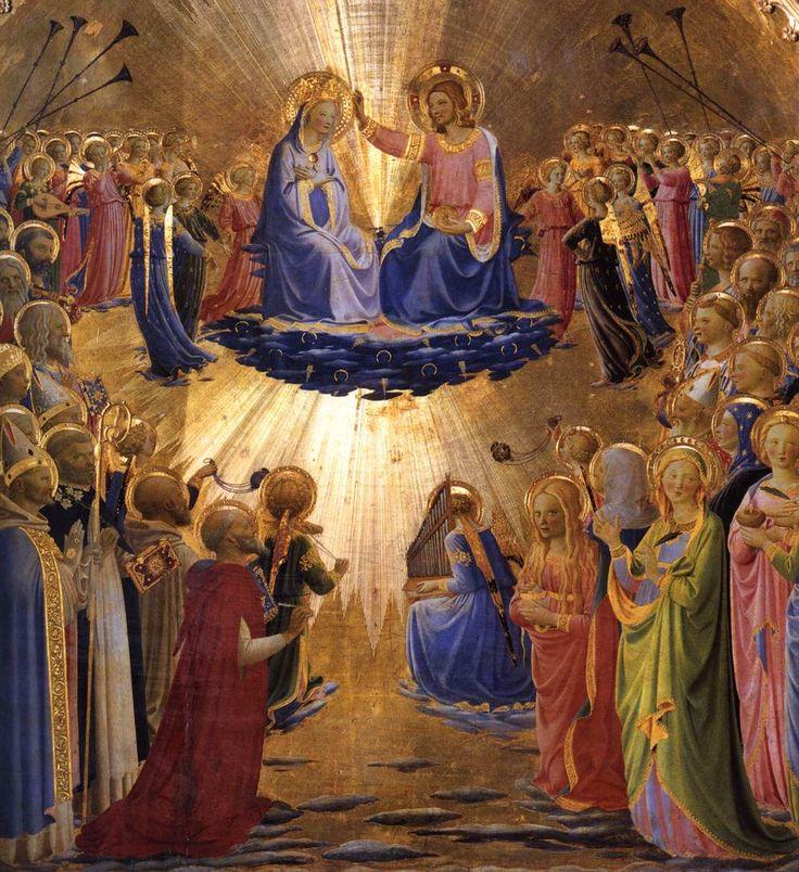 Fra Angelico - Couronnement de la Vierge - Galleria degli Uffizi, Florence