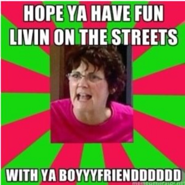 @Meagan Martin .. For some reason this reminds me of you! Teen MOM! :))